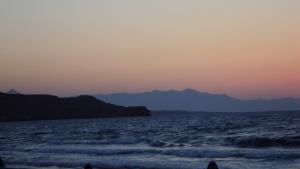 Sunsest on Crete.