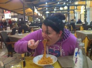 Yup.. pasta in Italy.