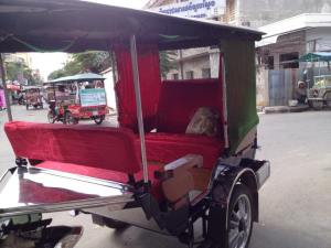 Our awesome tuk tuk